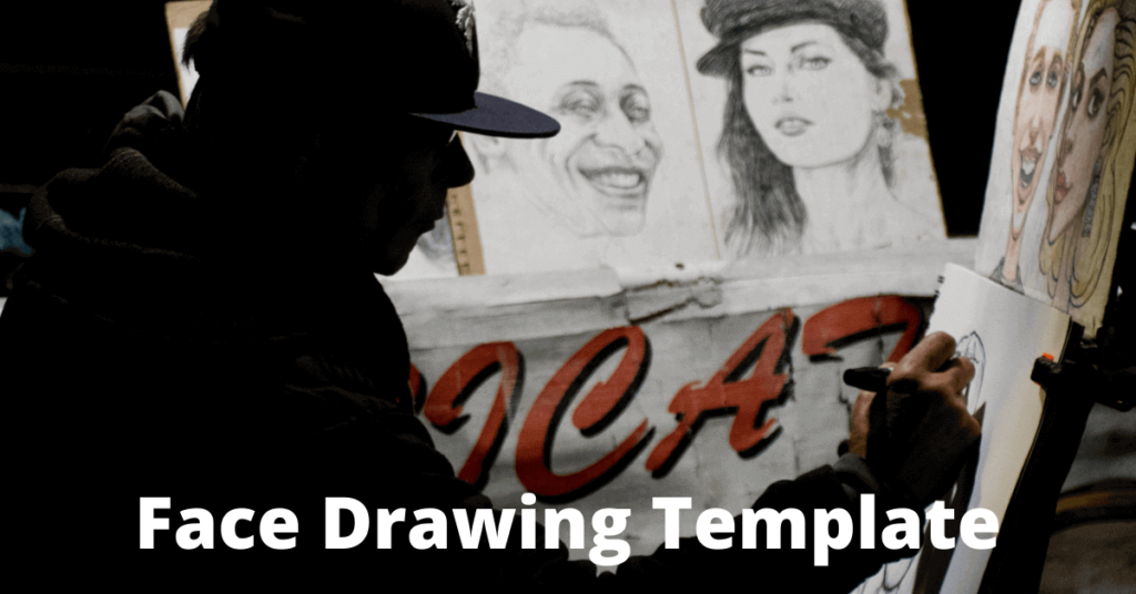 face-drawing-template