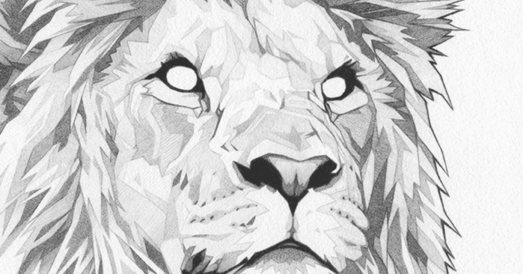 how-to-draw-lion