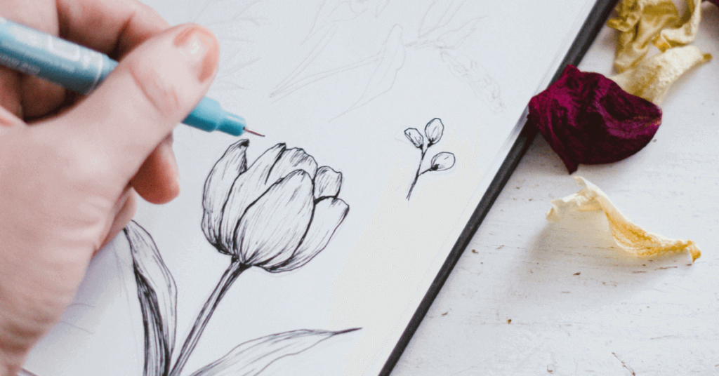 how-to-draw-a-rose